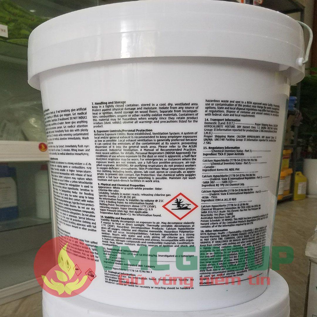 microchlor 70 thung 20kg